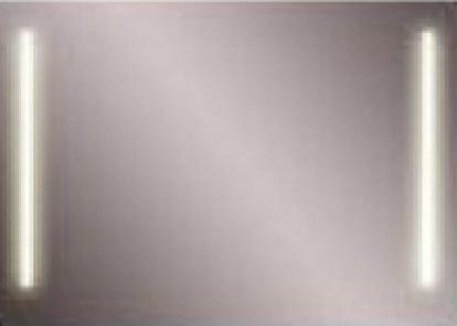 Зеркало Astra Form Альфа 90 Белое
