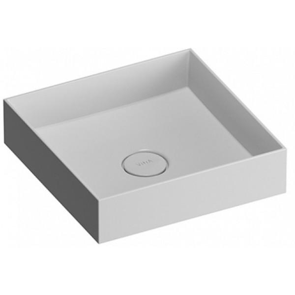 Memoria M58000004000 БелаяРаковины<br>Квадратная раковина-чаша Vitra Memoria Bowl 40 M58000004000 накладная.<br>Материал: керамика (Fine Fire Clay).<br>Глазированное покрытие. <br>Долгий срок службы и высокий уровень гигиены.<br>Качественная шлифовка поверхности.<br>Тест на отсутствие микротрещин: 100%.<br>Монтаж: крепление к столешнице.<br>Простота в уходе.<br><br>В комплекте поставки:<br>чаша умывальника.<br><br>
