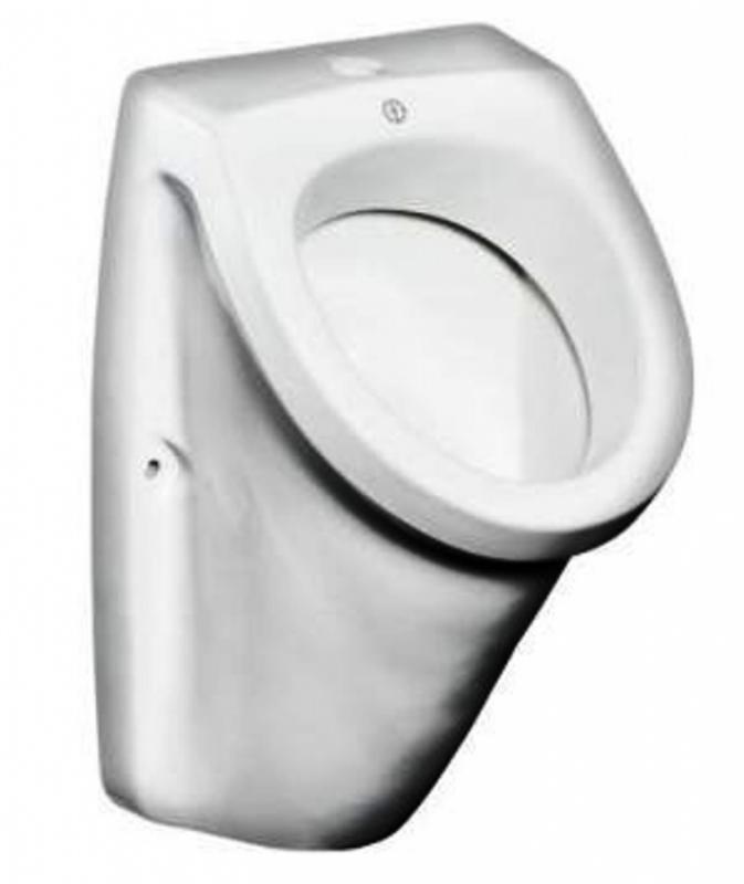 Saval 7G50 БелыйПиссуары<br>Gustavsberg  Saval 7G500001 писсуар с открытым подключением воды.  Для настенной установки. Сифон заказывается отдельно.<br>