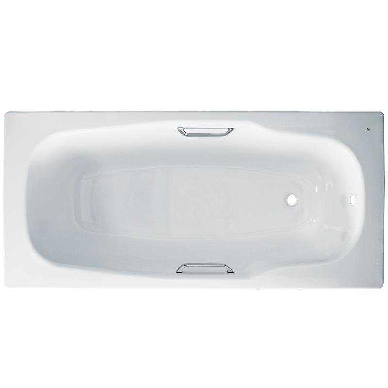 Стальная ванна BLB Atlantica 180х80 B80A handles Белый