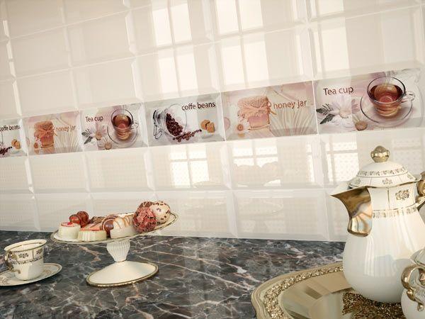 Керамическая плитка Monopole Ceramica Breakfast Manzanilla 10x20 декор стоимость