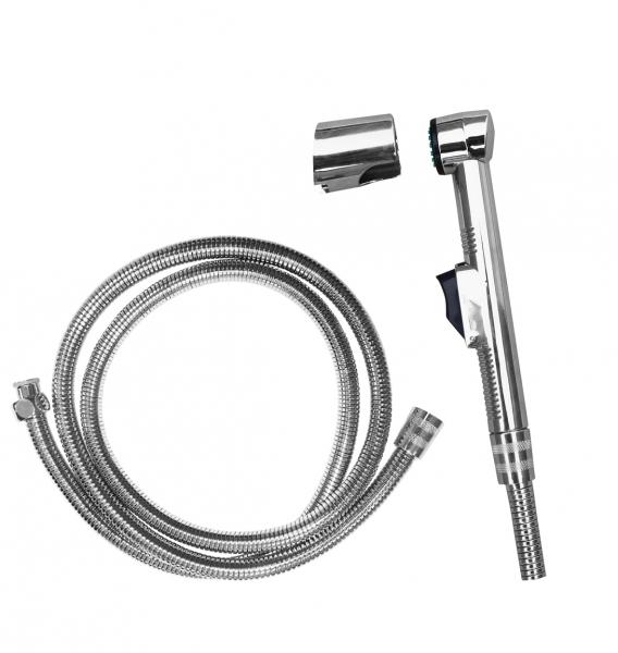 SK0038 ХромГигиенические души<br>Rav Slezak SK0038 душевой комплект. В набор входят душевая лейка и металлический шланг.<br>