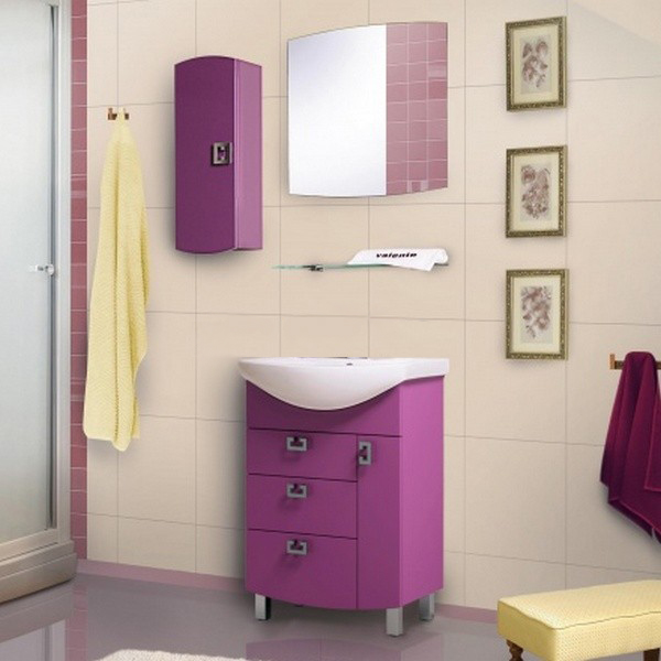 Acquisto 70 БелаяМебель для ванной<br>Тумба с раковиной Valente Acquisto Ac700.90-01/02.<br>
