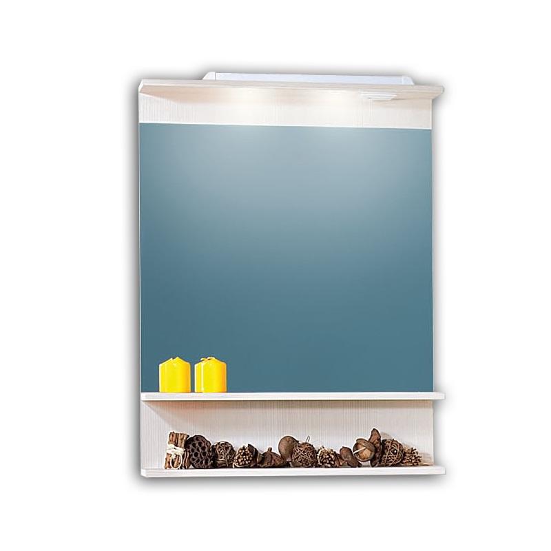 Чили/Куба 70 Светлая лиственницаМебель для ванной<br>Зеркало Бриклаер Чили / Куба 70. Цвет светлая лиственница.<br>