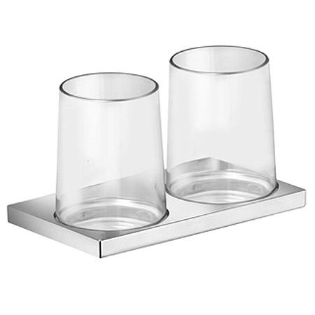 Edition 11   11151 019000 ХромАксессуары для ванной<br>Keuco Collection Edition 11  11151 019000 двойной держатель стакана. Монтаж - настенный.<br>