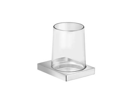 Edition 11 11150 019000 ХромАксессуары для ванной<br>Keuco Edition 11 11150 019000 держатель стакана. Стеклянный стакан  в комплекте. Монтаж - настенный.<br>
