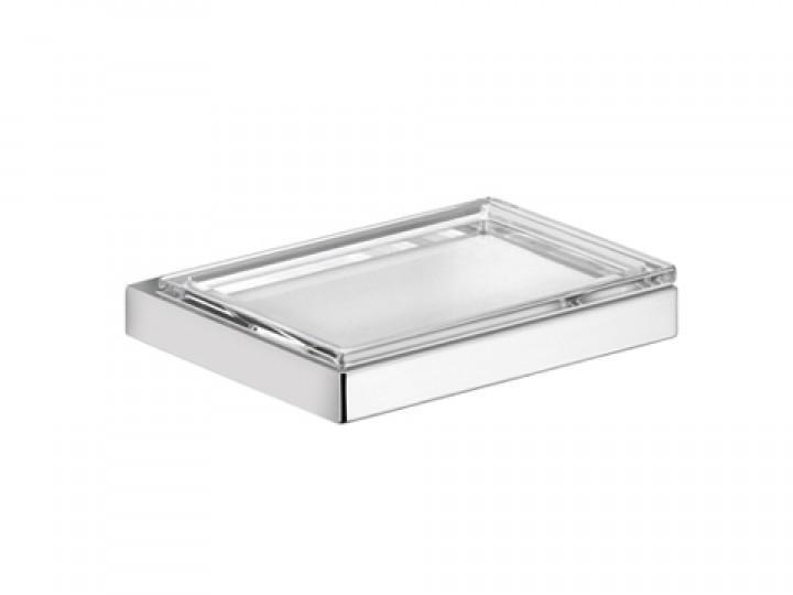 Edition 11 11155 019000 ХромАксессуары для ванной<br>Keuco Edition 11  11155 019000 мыльница стеклянная. Монтаж на стену.<br>