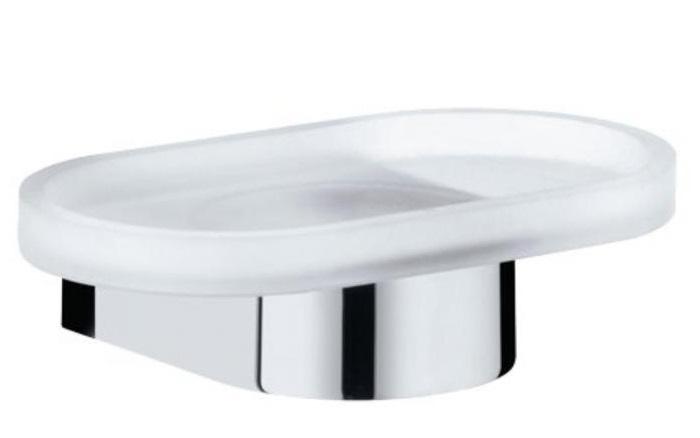 Edition 300  30055 019000 ХромАксессуары для ванной<br>Keuco Edition 300 30055 019000 мыльница стеклянная. Монтаж на стену.<br>