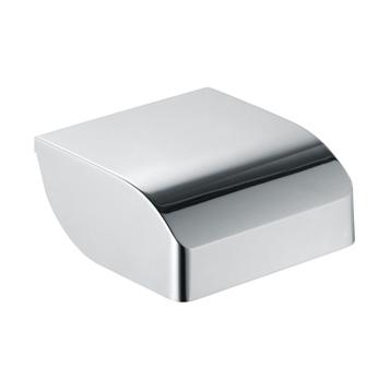 Elegance New 11660 010000 ХромАксессуары для ванной<br>Keuco Elegance New 11660 010000 держатель для туалетной бумаги, с крышкой. Для рулона шириной 100 мм. Монтаж - настенный.<br>