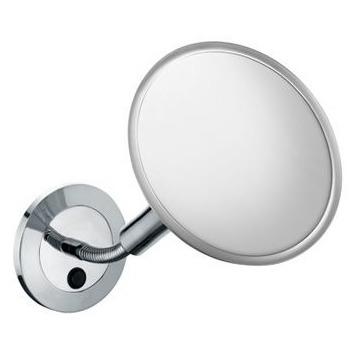 Elegance New 17676 019000 ХромАксессуары для ванной<br>Keuco Elegance New 17676 019000 косметическое зеркало. Одностороннее, вогнутое. Диаметр: 207 мм. Фактор увеличения x 5. <br>Настенное, с прямым кабелем для подключения. <br> 1 x 8 Вт энергосберегающая лампа класс энергопотребления A.<br>