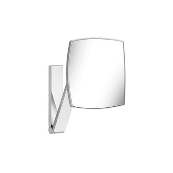 iLook move 17613 010000 ХромАксессуары для ванной<br>Keuco iLook move 17613 010000 косметическое зеркало. Квадратное, без подсветки. Настенная модель на кронштейне с шарниром, регулируется в трех плоскостях. Одностороннее, вогнутое. Фактор увеличения x 5.<br>