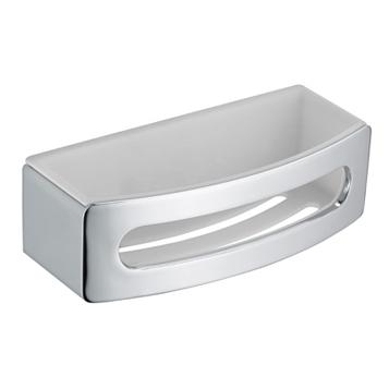 Elegance New 11658 010000 ХромАксессуары для ванной<br>Keuco Elegance New 11658 010000  одинарная полочка-корзинка для губки. Ширина 240 мм. Монтаж настенный.<br>