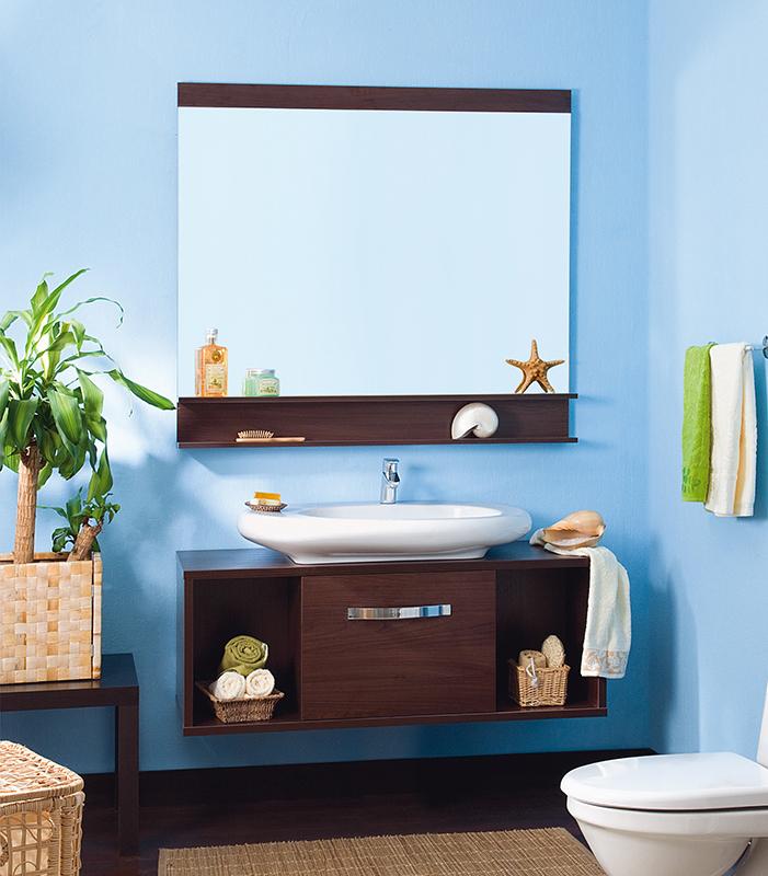 Куба 120 венгеМебель для ванной<br>Подвесная тумба под раковину Бриклаер Куба 120 с одной дверцей по центру, которая открывается на себя и двумя открытыми нишами слева и справа, выполнена в стиле минимализма. Тумба надежно крепится с помощью специальных навесов на стену. Корпус и фасад выполнены из ЛДСП цвета экзотического темного дерева. Тумба предназначена для использования во влажных помещениях и рассчитана на воздействие с влажным воздухом, но для того, чтобы она служила долго, необходимо исключить прямой залив водой любых её частей, кроме раковины. Цена указана за тумбу. Раковина и все остальное приобретается дополнительно.<br>