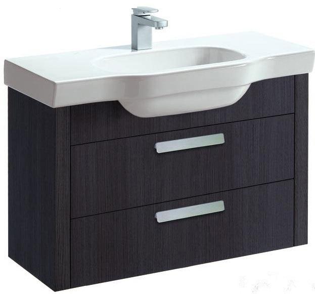 LB 3 4.3611.2.068.561.1 ВенгеМебель для ванной<br>Тумба под раковину подвесная Laufen LB 3 4.3611.2.068.561.1. 2 ящика. Цвет венге.<br>