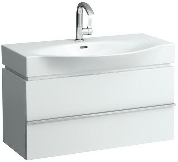 Palace New 4.0125.2.075.464.1 Белый глянецМебель для ванной<br>Тумба под раковину Laufen Palace 4.0125.2.075.464.1, 2 выдвижных ящика, цвет белый глянец.<br>