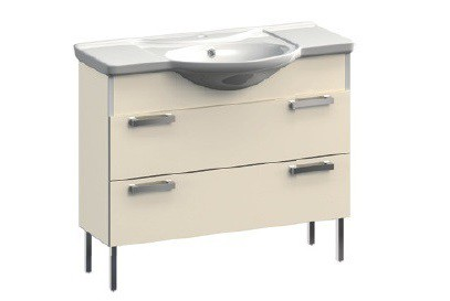 Dreja VR1-131-88 КоричневаяМебель для ванной<br>Тумба под раковину на ножках Veronica Dreja VR1-131-88. Цвет коричневый.<br>