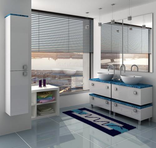 Гамма 75 module 1 Категория 2Мебель для ванной<br>Тумба с раковиной 75 module 1 (подвесная 1 ящик).  Раковина выполнена из литьевого мрамора, фасады - влагостойкий МДФ ламинированный пленкой ПВХ, фурнитура - tandembox Blum с встроенной системой мягкого закрывания.<br>