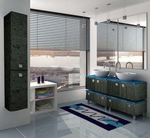 Гамма 75 module 3 Категория 2Мебель для ванной<br>Тумба с раковиной 75 module 3 (напольная 1 ящик).  Раковина - сантехническая керамика, фасады - влагостойкий МДФ ламинированный пленкой ПВХ, фурнитура - tandembox Blum с встроенной системой мягкого закрывания.<br>