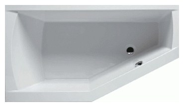 Romeo 170 Right без гидромассажаВанны<br>Ванна акриловая Riho Romeo 170 R. В стоимость входит только ванна. Всё дополнительное оборудование приобретается отдельно.<br>