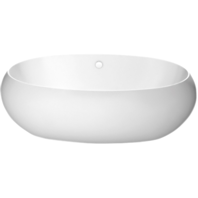 Купить Акриловая ванна, BB18 180x90 Белая, BelBagno, Италия