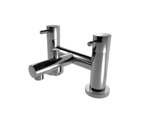 EOBA0136 INX (Матовый никель)Смесители<br>Смеситель для ванны  DIAMETROTRENTACINQUE EOBA0490 INX двухсекционный смеситель для ванны/душа, устанавливаемый на борт ванны (диаметр ручки 45мм). Цвет: матовый хром.<br>