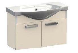 Ideal VR1-222-111 БордоваяМебель для ванной<br>Тумба под раковину подвесная Veronica Ideal VR1-222-111. Цвет бордовый.<br>