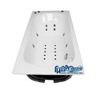 Goldman Classic ZYA-8-6  ExclusiveВанны<br>Гидромастер  Goldman Classic  ZYA-8-6  чугунная гидромассажная ванна. Гидромассаж 6 форсунок, аэромассаж 10 форсунок, система хромотерапии, поворотный электронный пульт управления с жидкокристаллическим информационным дисплеем, функция очистки системы продувкой, система защиты от сухого пуска, защита от перегрева, таймер.<br>