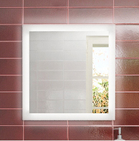 Рубин 70 БелоеМебель для ванной<br>Зеркало Astra Form Рубин 70.<br>