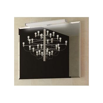 Сити 90 БелоеМебель для ванной<br>Зеркало Astra Form Сити 90 со светильником.<br>