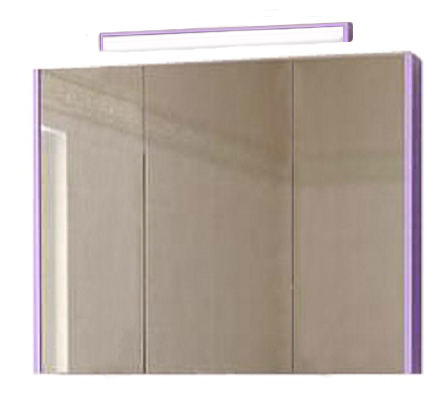 Сити 70 RAL цвет RALМебель для ванной<br>Зеркальный шкаф Astra Form Сити 70 RAL с подсветкой. Возможно исполнение в цветах по раскладке Ral.<br>