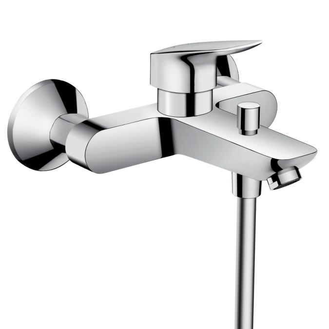 Смеситель для ванны Hansgrohe Logis 71400000 - фото