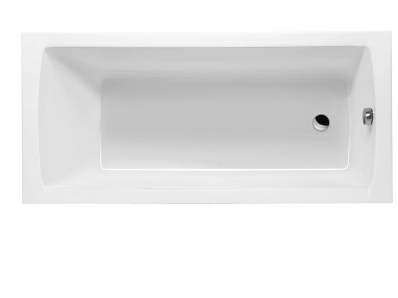 Aquaria 140 БелаяВанны<br>Excellent Aquaria 140 классическая прямоугольная акриловая ванна.<br>