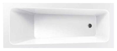 Ava 160  БелаяВанны<br>Excellent Ava 160 классическая прямоугольная акриловая ванна.<br>