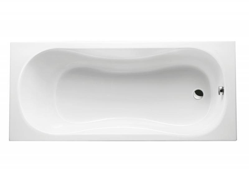 Clesis 160 БелаяВанны<br>Excellent Clesis 160 классическая прямоугольная акриловая ванна c ручками. Без слива. Максимальное количество отверстий под смеситель на борт ванны - 3. Дополнительные опции приобретаются отдельно.<br>