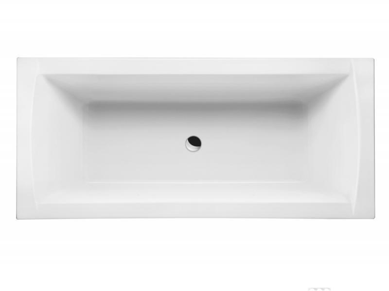 Crown II 170 БелаяВанны<br>Excellent Crown II WAEX.CRO17WH классическая прямоугольная акриловая ванна c ручками.<br>