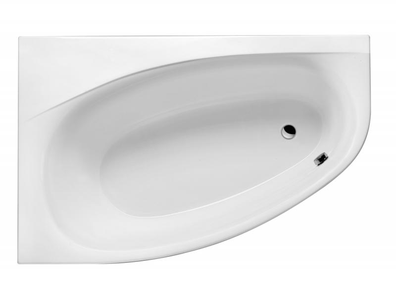 Kameleon 170 ЛеваяВанны<br>Excellent Kameleon 170 ванна акриловая, имеет асимметричную форму. Без слива. Максимальное количество отверстий под смеситель на борт ванны - 5. В стоимость входит только ванна, все комплектующие приобретаются отдельно.<br>