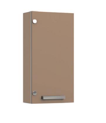 VR5-1-35R ОранжевыйМебель для ванной<br>Шкаф подвесной Veronica VR5-1-35R с заглушками.  Петли справа. Цвет оранжевый.<br>