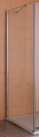 Сuya XP CX TWL 09018VPK Серебро+klar+cleanДушевые ограждения<br>Боковая стенка Kermi Сuya XP CX TWL 09018VPK. Прозрачное стекло с легкоочищаемым покрытием KermiClean.<br>