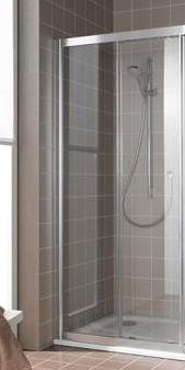 Боковая стенка Kermi Atea AT TWD 10018VPK Серебро+klar+clean фото