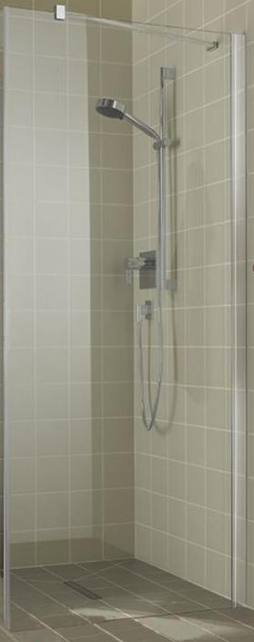 Atea AT TWD 10018VWK Серебро+Siesta+cleanДушевые ограждения<br>Боковая стенка Kermi Atea AT TWD 10018VWK. Профиль из высококачественного анодированного алюминия. Прозрачное стекло с покрытием Siesta.<br>