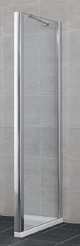 Gia GX UWL 08018VAK Серебро+klarДушевые ограждения<br>Боковая стенка Kermi Gia GX UWL 08018VAK. Высококачественный профиль из анодированного алюминия, прозрачное стекло.<br>