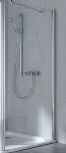 Ibiza 2000 I2 TWO 080181NK Серебро+klar+Arena CДушевые ограждения<br>Боковая стенка Kermi Ibiza 2000 I2 TWO 080181NK. Высококачественный профиль из анодированного алюминия, структурное стекло Arena C.<br>