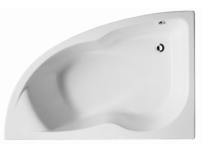 Micromega Duo E60219RU-00 150х100 леваяВанны<br>Ванна ассиметричная Jacob Delafon Micromega Duo E60219RU-00. С отверстиями для ножек. Ассиметричная модель, левосторонняя. Эргономичная спинка, удобные подлокотники. В комплекте только ванна.<br>