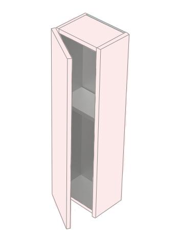 Соло 20 БелыйМебель для ванной<br>Навесной шкаф Astra Form Соло 20.<br>