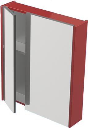 Соло 60 ЦВ RAL цвет RALМебель для ванной<br>Зеркальный шкаф Astra Form Соло 60. Возможно исполнение в цветах по раскладке Ral.<br>