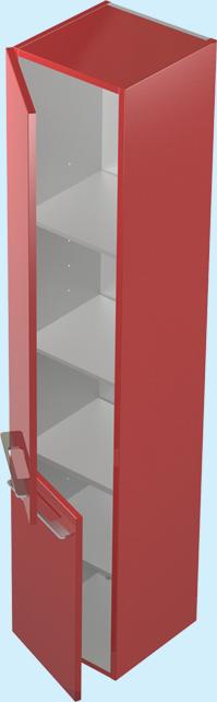 Соло ЦВ RAL ЛевыйМебель для ванной<br>Пенал Astra Form Соло. Петли располагаются слева. Возможно исполнение в цветах по раскладке Ral.<br>