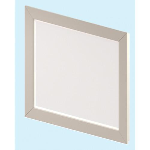 Лотус БелоеМебель для ванной<br>Зеркало коллекции Лотус. В комплекте: встроенная светодиодная  подсветка, комплект  крепежа.<br>