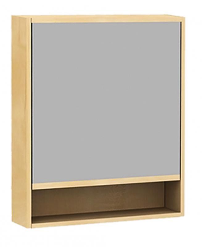 Punto 600 мм Pnt600.12 -02 Клен медовыйМебель для ванной<br>Зеркальный шкаф Punto 600 мм Pnt600.12 -02<br>