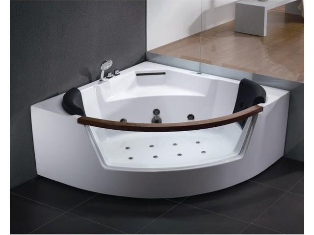 AM197JDTS-1Z С гидромассажемВанны<br>Двухместная акриловая ванна Eago AM197JDTS-1Z с гидромассажем. Двухместная ванна с окном. 20 форсунок. Сенсорная панель управления. Монолитная передняя панель. Донный гидромассаж.<br>