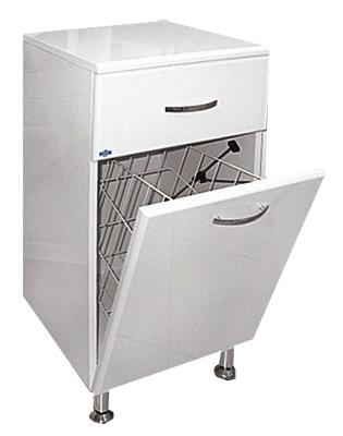 Люси-30 с б/к 300 ммМебель для ванной<br>Тумба напольная Misty Люси-30 с бельевой корзиной. Раковина в комплект не входит.<br>